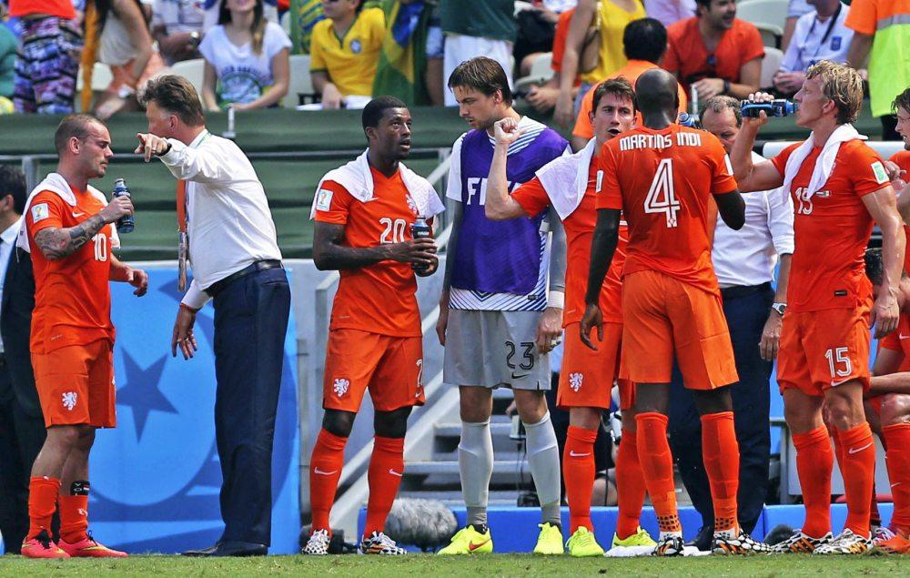 Laga Netherlands vs Mexico Pertama kali mendapatkan Cooling Break