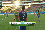 Small screen shot highlight colombia vs japan babak1