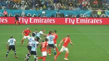 Small highlight argentina vs belanda babak2